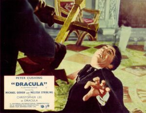 Poster for the Hammer Horror film Dracula, made at Bray Studios