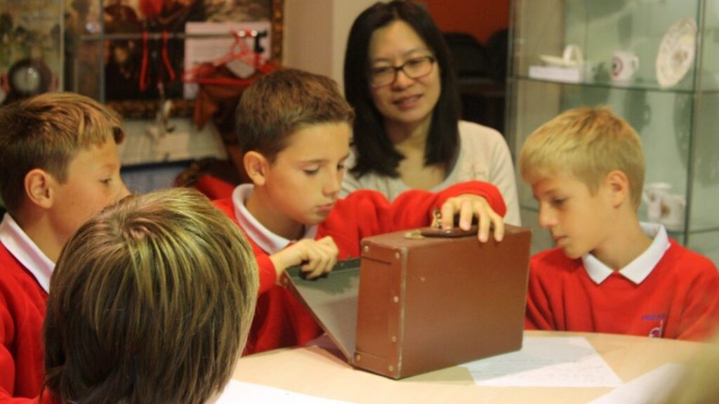 Investigating a WW2 evacuee's suitcase