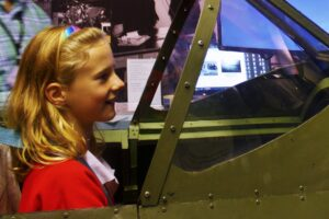 Take to the skies in our spitfire simulator!