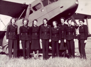 ATA's first 8 women recruits