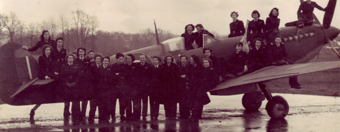 Permanent ATA exhibition Grandma Flew Spitfires