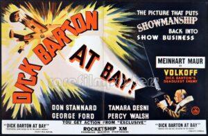 Dick Barton poster