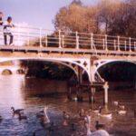 Guards Club Island footbridge