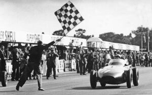 Vanwall, S.Moss 1957 British GP at Aintree