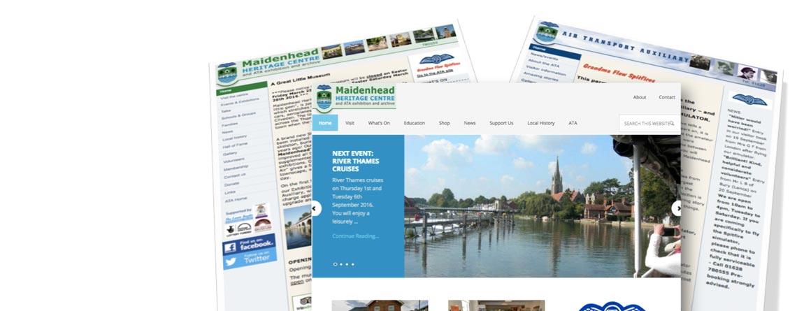New website Maidenhead Heritage Centre