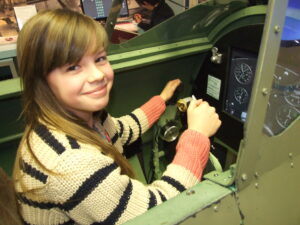 Win a flight in our Spitfire simulator