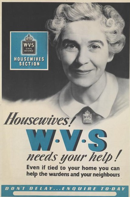 Women in Green - Housewives! WVS needs you