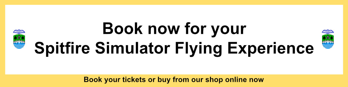 Book your Spitfire Simulator Flying Experience now